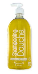 NATURADO Shampooing Douche Orange - 1 litre