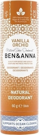 Ben & Anna - Déodorant Vanilla Orchid - Papertube 60 grs